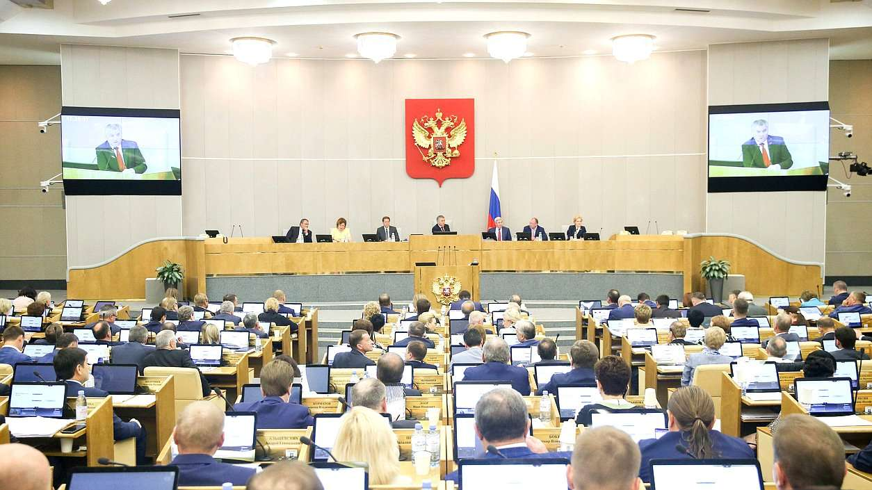 Выступление министра В.В. Якушева на заседании Государственной Думы РФ в рамках «Правительственного часа»
